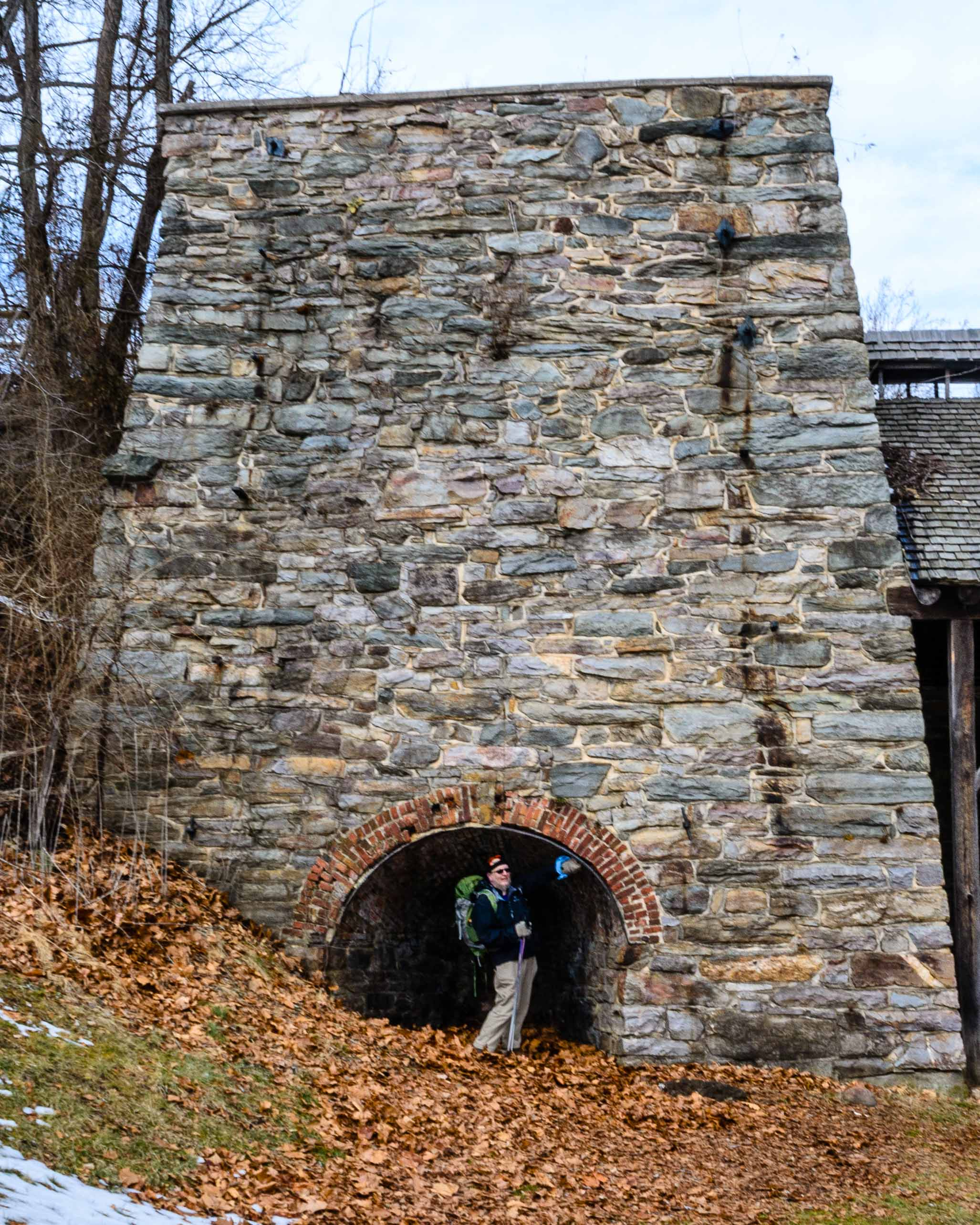 Isabella Iron Furnace in the Manor Area of Cunningham Falls State Park
