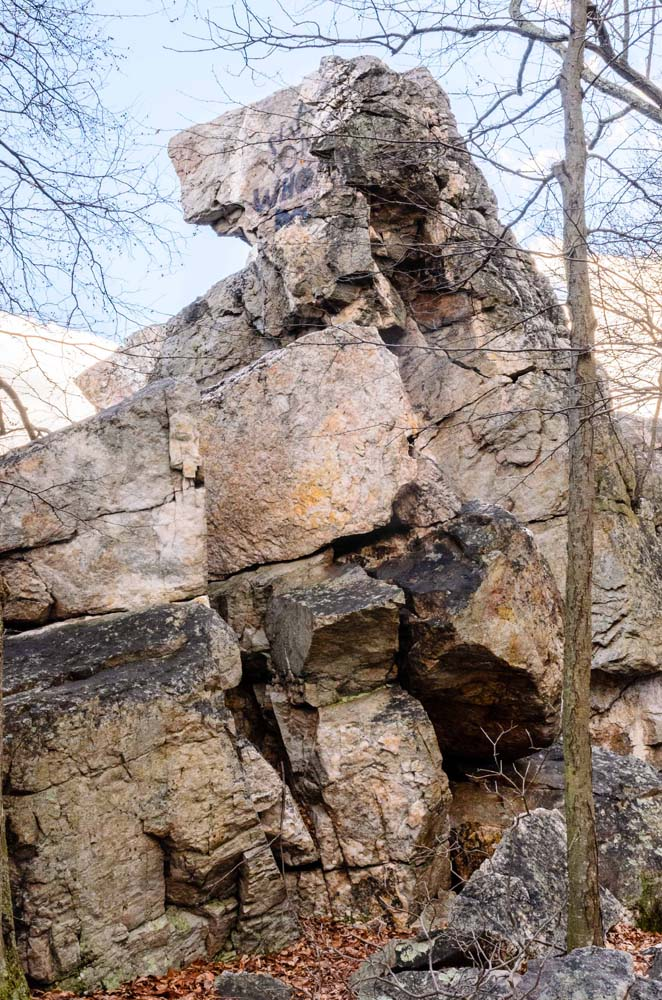 Wolf Rock in Catoctin Mountain Park NPS