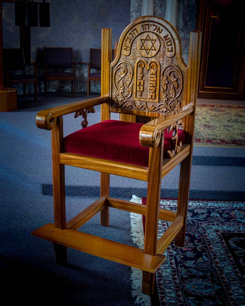 The Chair of Elijah the Prophet