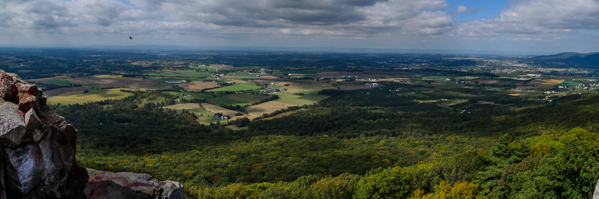 High Top View: Maryland Appalachian Trail